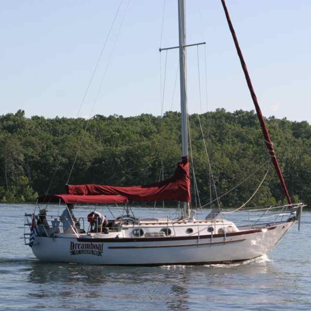 pacific seacraft 34 solo sailing