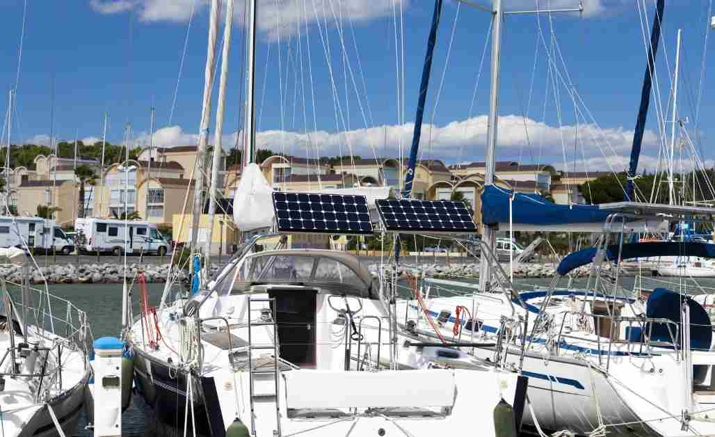 Best Marine Solar Panels for Sailboats
